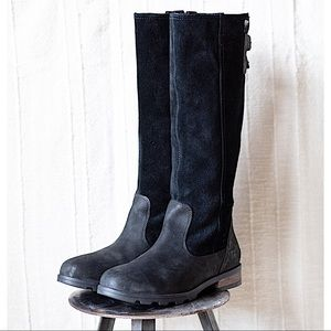 Sorel Emelie Tall Waterproof Leather Riding Boot